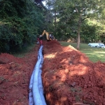 Before the Drainfield Repair is Covered